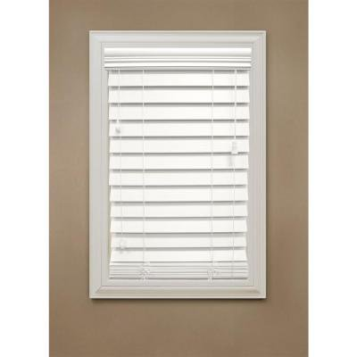 Custom-Made, Nulite Prestige 2 Inch Faux Wood Horizontal Blinds, Inside Mount (44.5 - 64.5