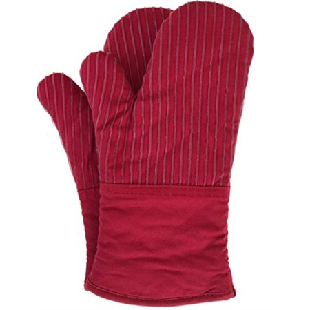 - BIG RED HOUSE Oven Mitts, with the Heat Resistance of Silicone and Flexibility of Cotton, Recycled Cotton Infill, Terrycloth Lining, 480 F Heat Resistant Pair