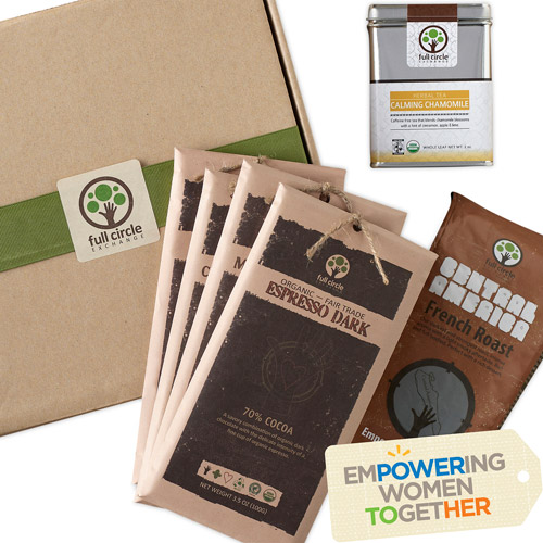Full Circle Exchange Coffee, Tea & Chocolate Bar Gift Box