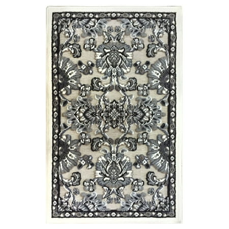Dalyn Taupe Rug (Home Dynamix Arrington Collection Chenille Transitional Area Rug for Modern Home Decor)