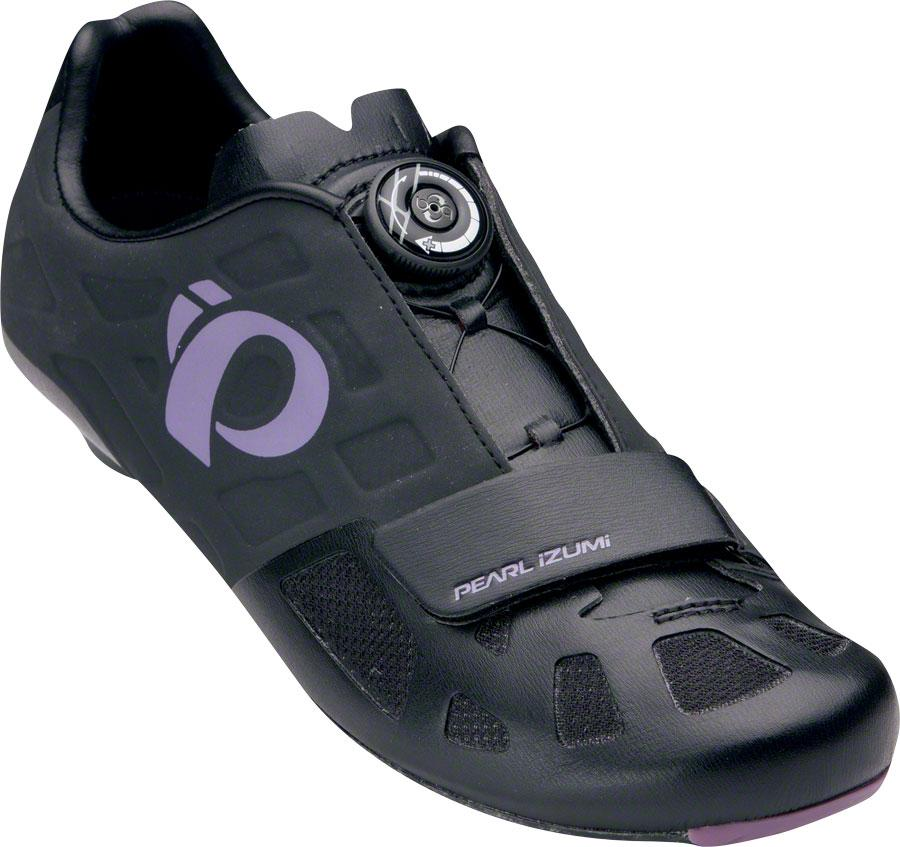 Pearl Izumi Women's Elite Road IV Cycling Shoe: Black/Pur...