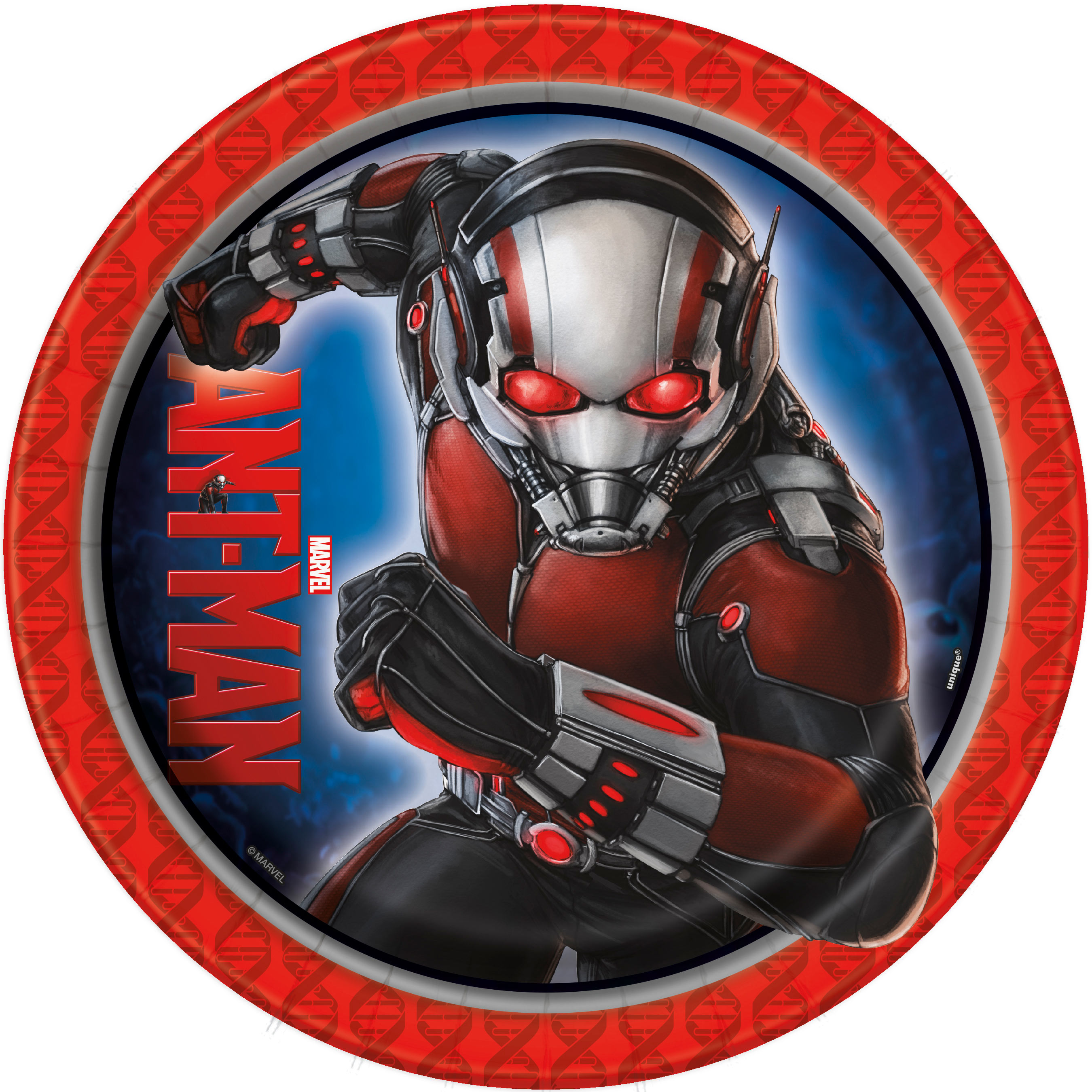 Marvel Ant Man 9 Inch Lunch Plates [8 per Pack] 48835