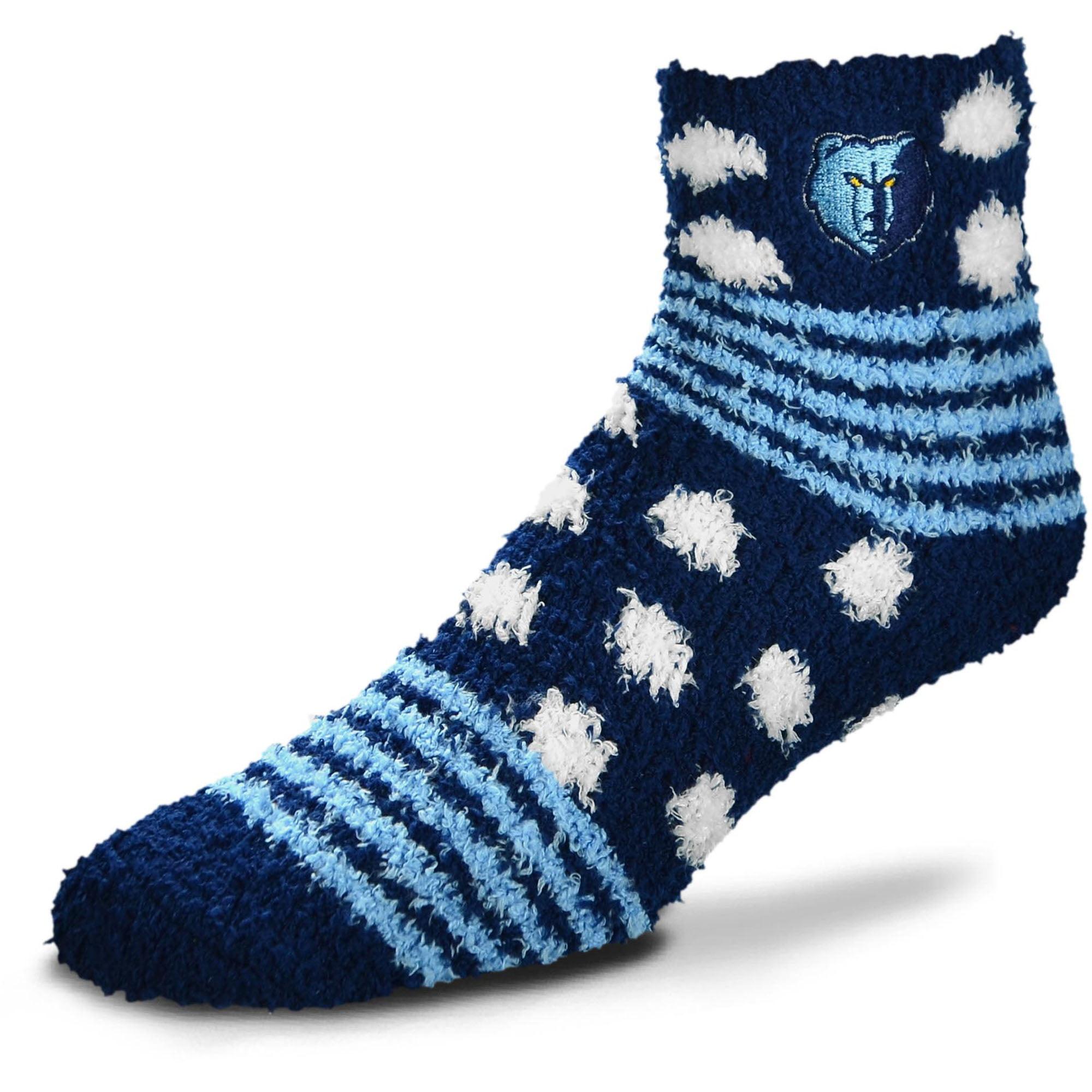 Memphis Grizzlies For Bare Feet Women's Homegator Socks - No Size