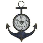 Cooper Classics Wide Anchor Wall Clock - 19W x 24H in.
