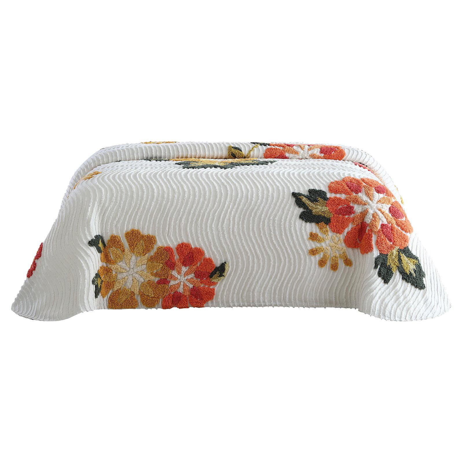 Autumn Chenille Bedspread, Full