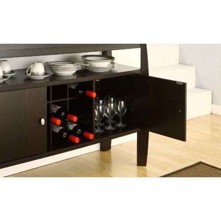 Furniture of America Clyton Dining Buffet, Dark Espresso