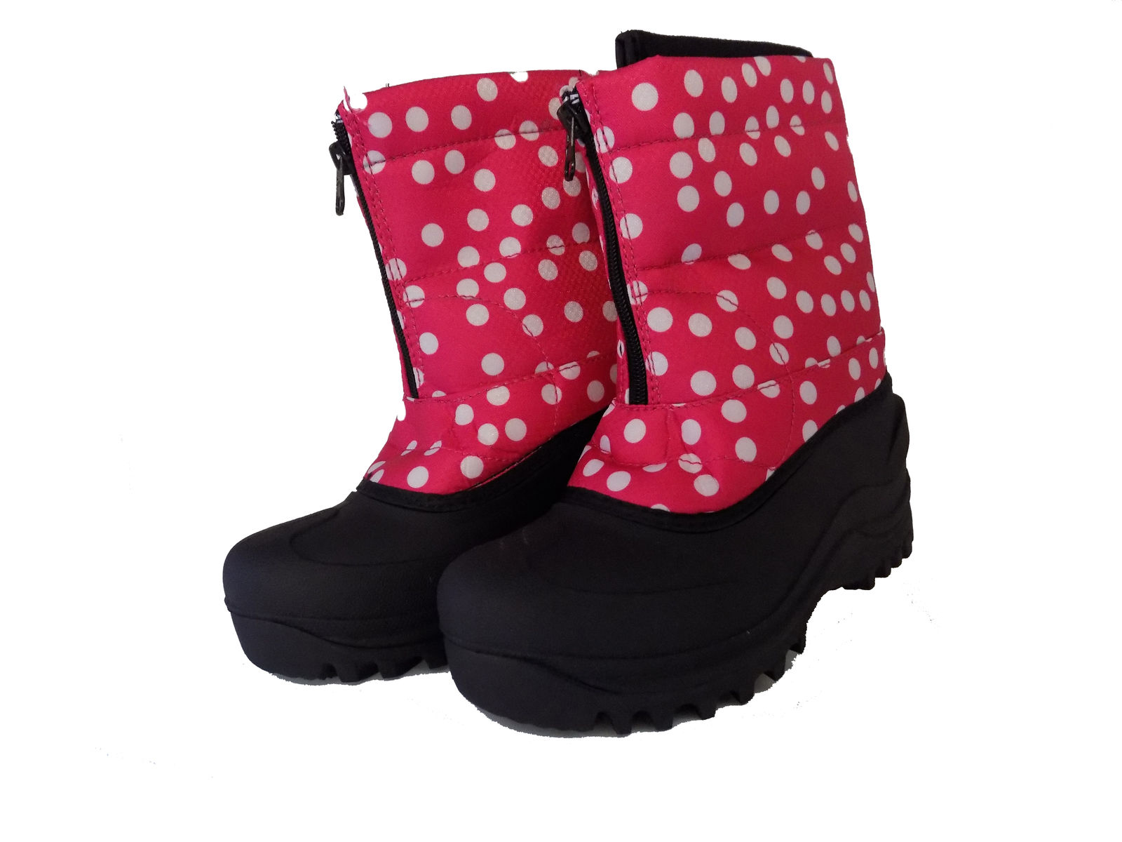 Itasca POLKA DOT Girls Warm Winter Snow Boots by Itasca