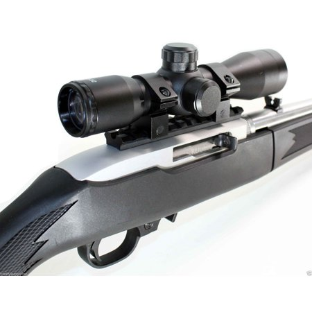 Rifle Upgrade Kit For Ruger 10/22 4x32 Scope rail mount aluminum hunting