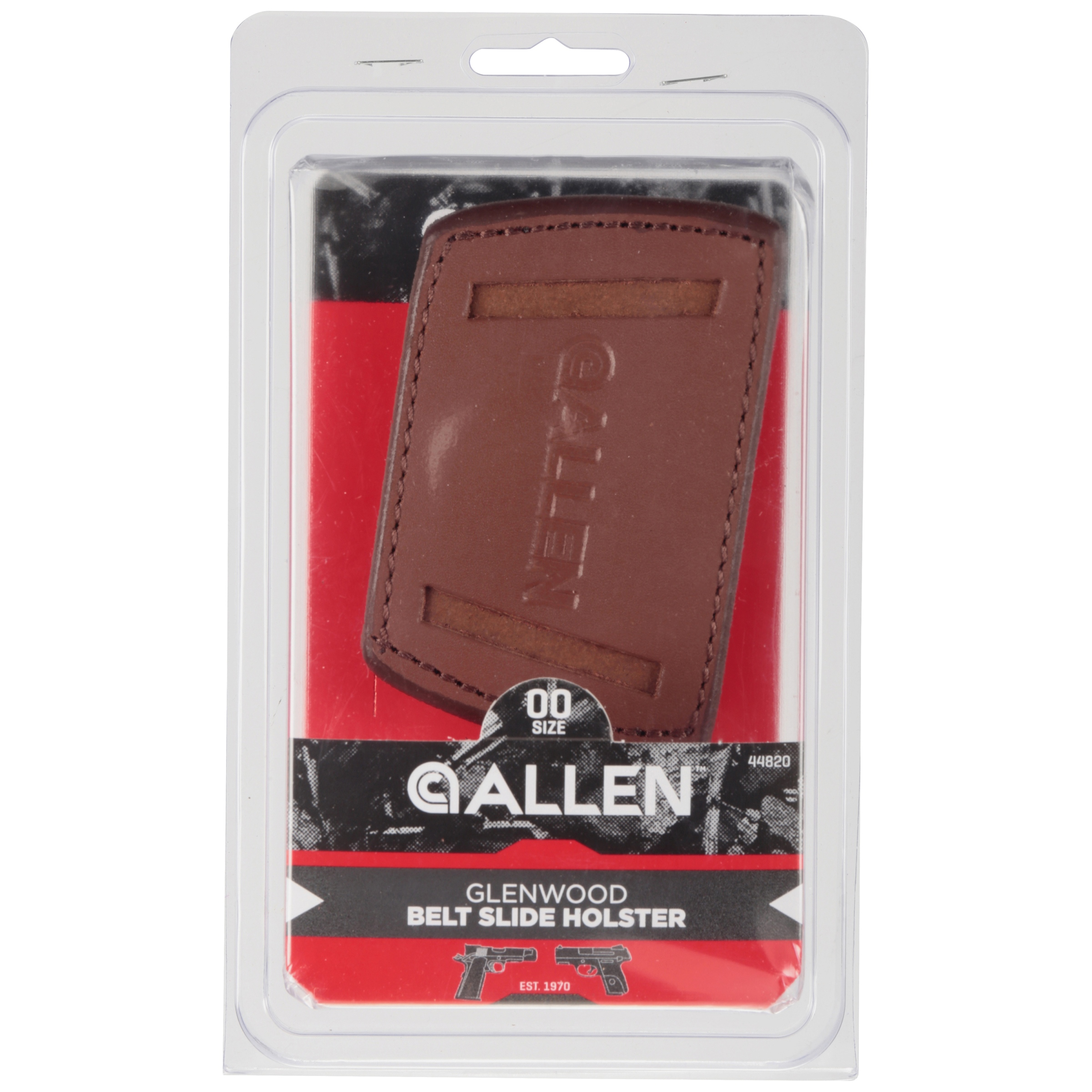 Allen Cases 44821 Glenwood Belt Slide Leather Holster for sale online
