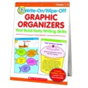 Scholastic Write-On & Wipe-Off Graphic Organizers For Writing