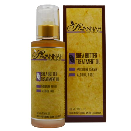 Savannah Hair Therapy  Shea Butter 3.38-ounce Treatment (Clear Scalp And Hair Therapy Ultra Shea)