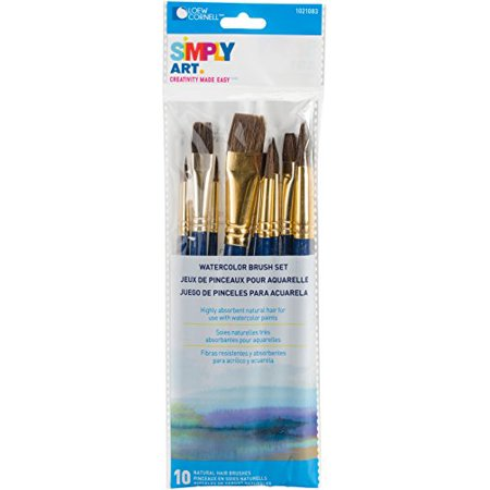 Loew-Cornell 1021083 Simply Art Natural Brush Set - image 1 de 1