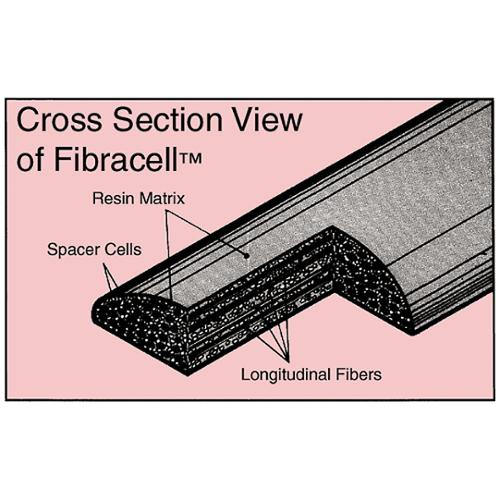 Fibracell Synthetic Bass Clarinet Reed Strength 5.5 by
