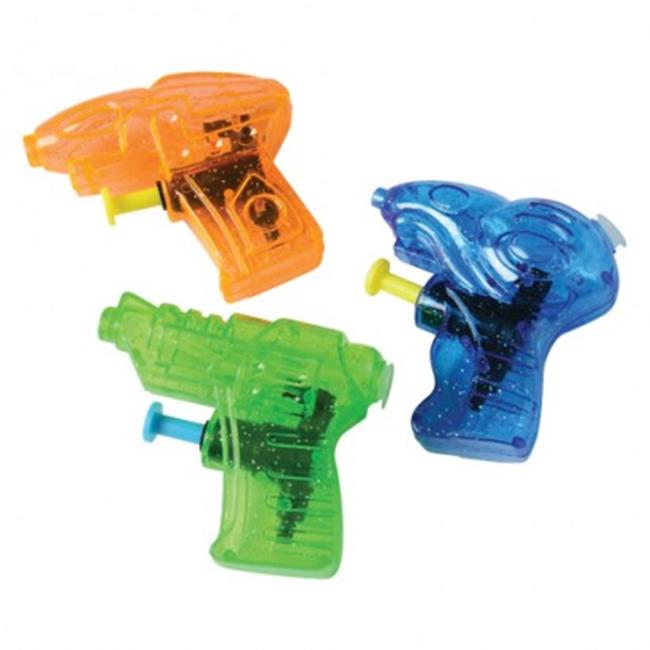 US Toy GS820X7 3 in. Futuristic Water Guns 12 Per Pack Pack of 7 by US Toy Company
