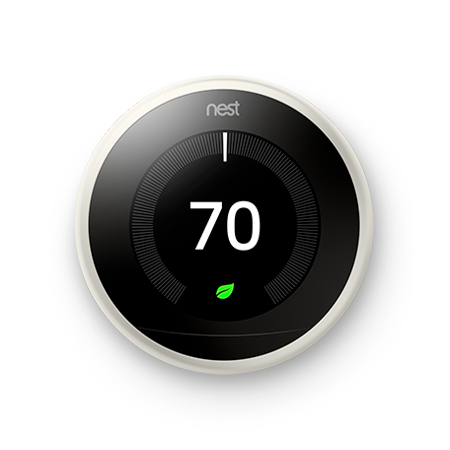 Roosting Nest (Google Nest Learning Thermostat - 3rd Generation - White )