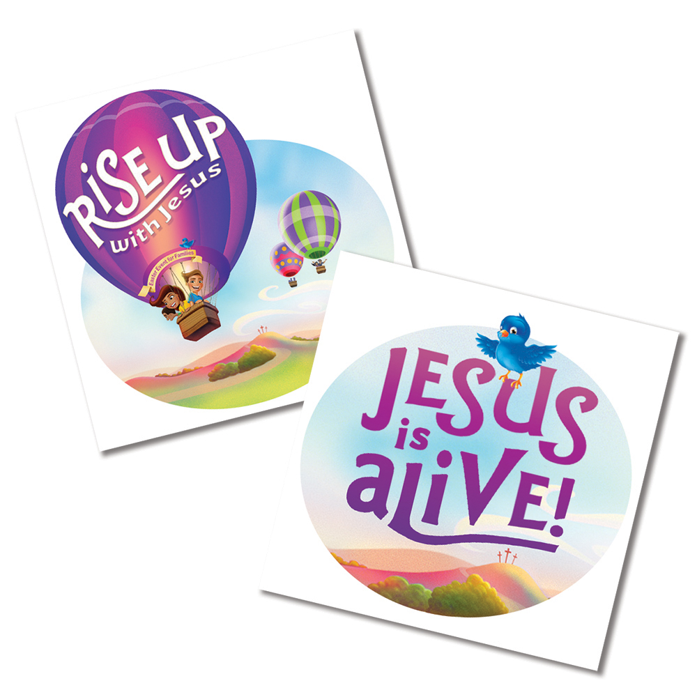 Rise Up: Skin Decals : (10-Pack, 5 of each design)