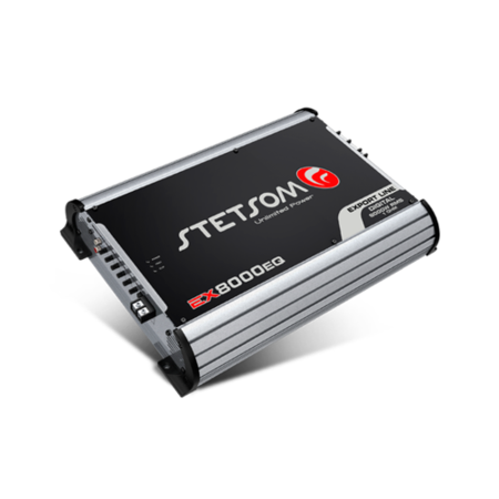 Stetsom EX8000 EQ 1 OHM Mono High Power Car Audio Amplifier 8000w RMS at 14V High Quality Mono Power Amplifier
