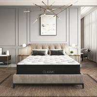 Modern Sleep Palmetto Hybrid Foam and Innerspring 12-Inch Mattress, Multiple Sizes