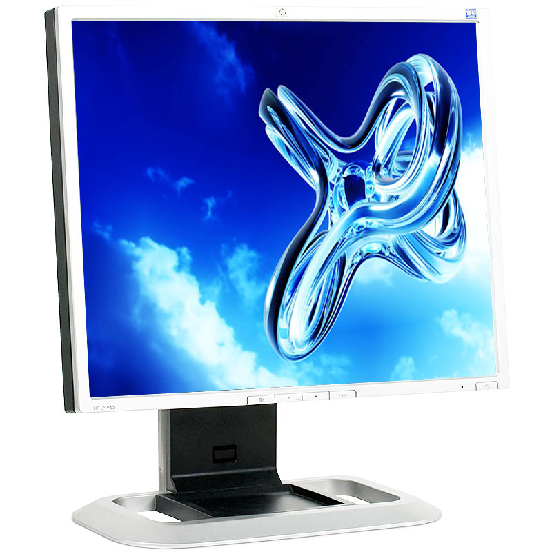 "Refurbished HP LP1965 1280 x 1024 Resolution 19"" LCD Flat Panel Computer Monitor Display"