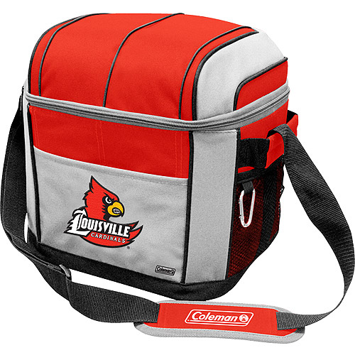 "Coleman 11"" x 9"" x 13"" 24-Can Cooler, Louisville Cardinals"