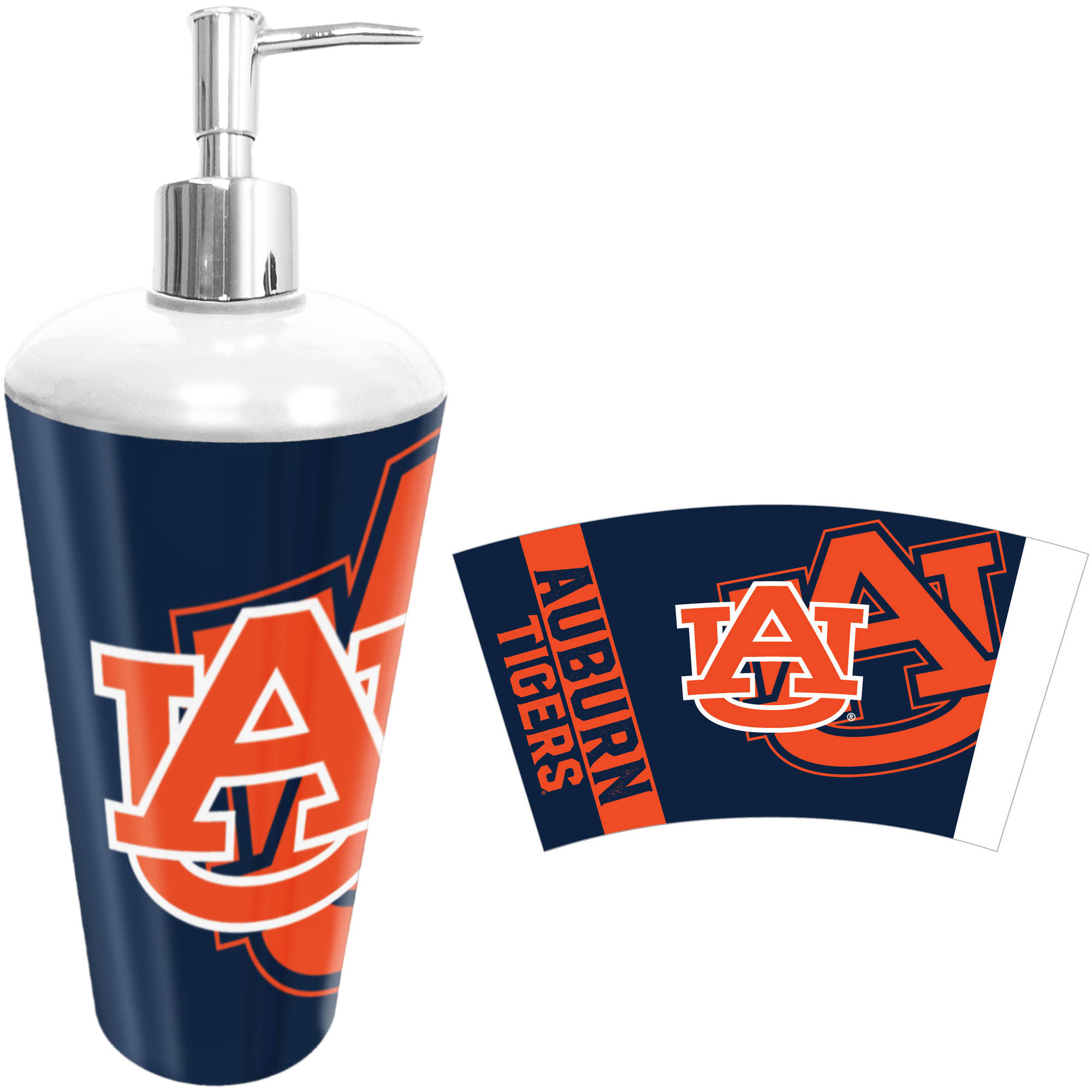 NCAA Auburn Tigers Decorative Bath Collection Lotion/Soap Pump ...