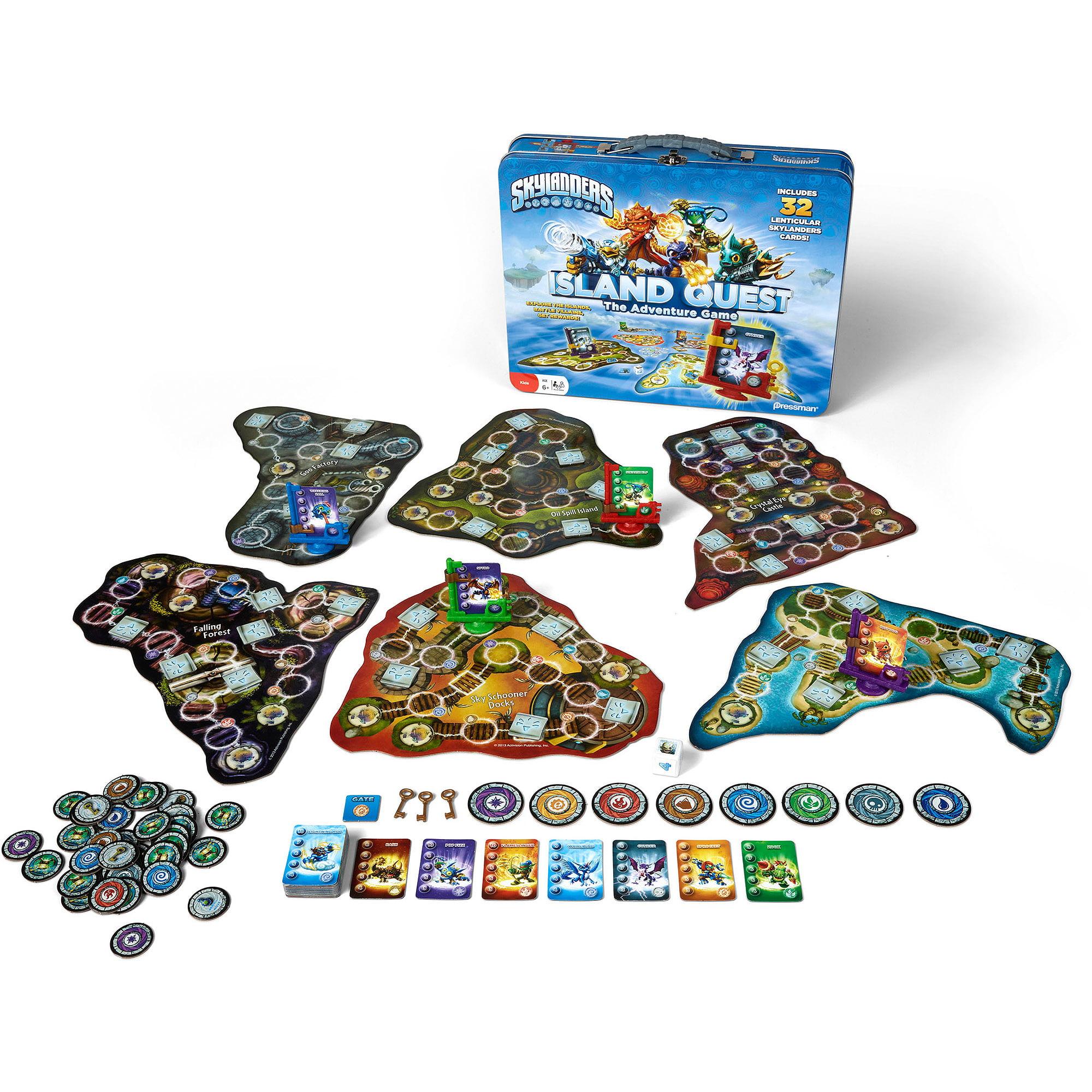 Pressman Toys Skylanders Island Quest Game by Generic