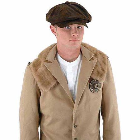 Steampunk Driver Hat Adult Halloween Costume Accessory - Halloween 280