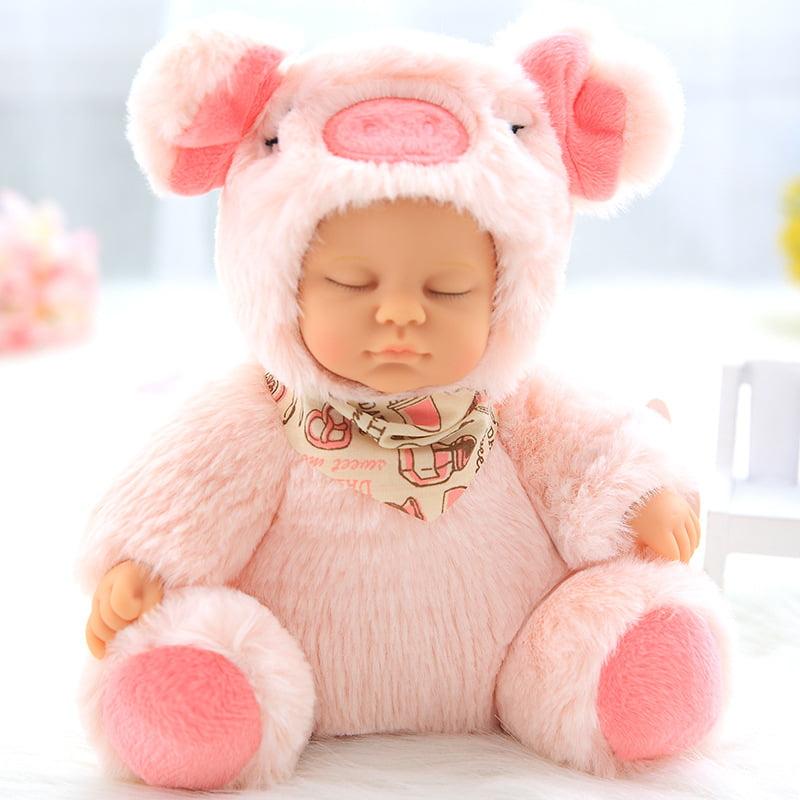 "11"" Reborn Baby Doll Handmade Realistic Lifelike Silicone ..."