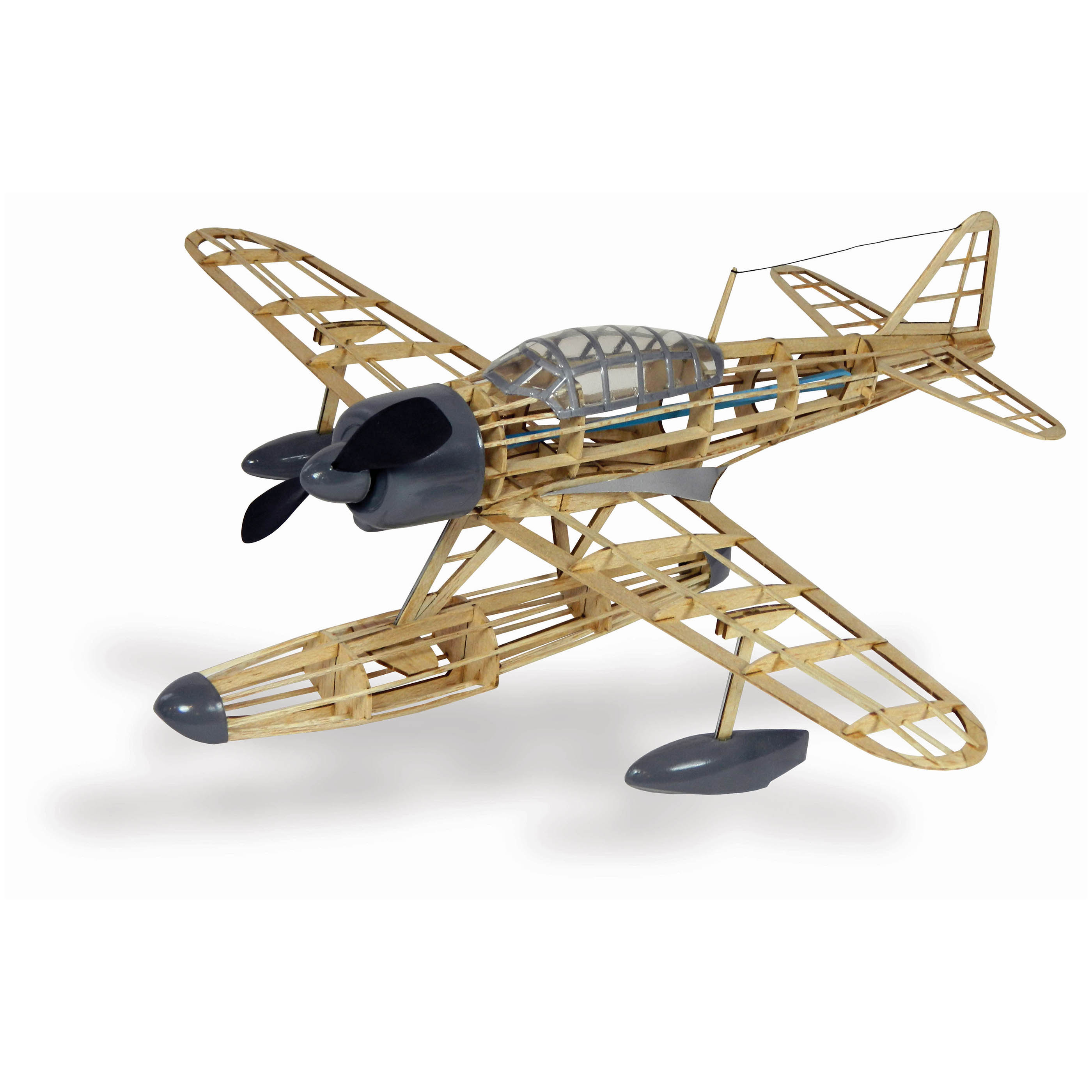 Guillow's Nakijima A6M2-N Rufe Model Kit