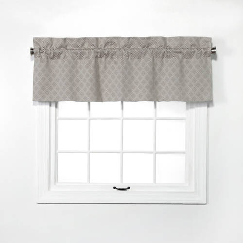 Bridget Lined Straight Valance by Belle Maison USA Ltd.