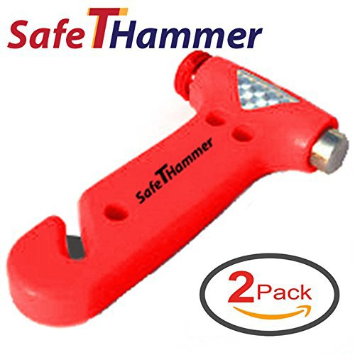 Seat Belt Cutter Window Breaker Car Safety Hammer - Auto Emergency Kit Tool