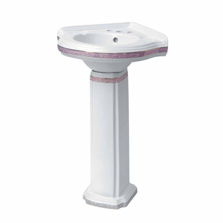 Bathroom Decorative Pedestal Sink White Vitreous China Portsmouth Rose Renovator 39 S Supply