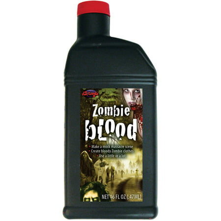 Zombie Blood Pint Halloween Accessory - Simple Zombie Makeup Halloween