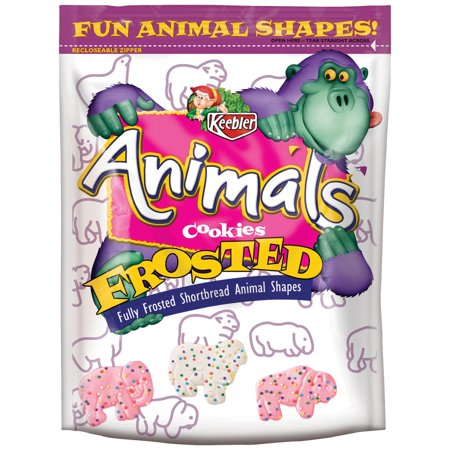 Keebler Animal Frosted Cookies, 13 oz