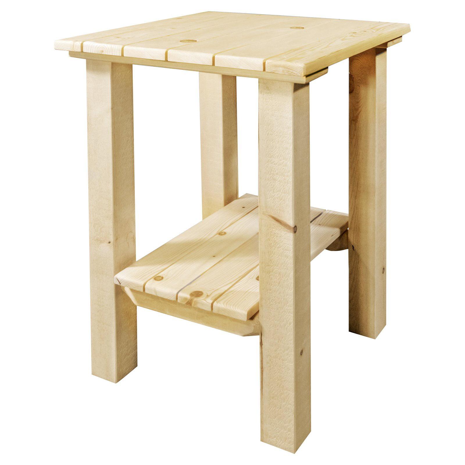 Montana Woodworks Homestead Indoor / Outdoor End Table