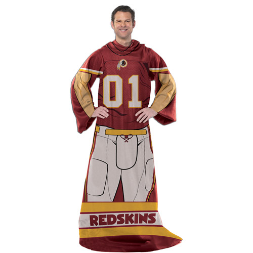 "NFL Player 48"" x 71"" Comfy Throw, Redskins"