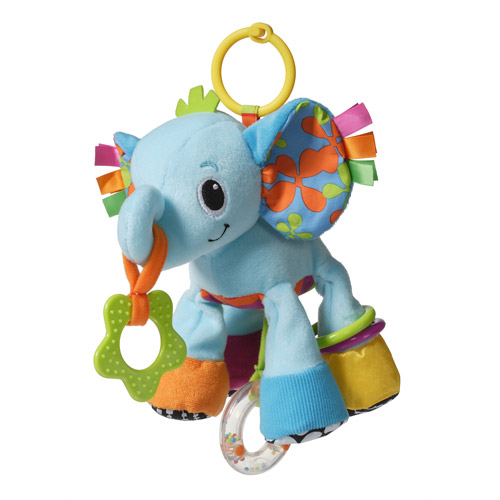 Infantino Peanut the Elephant Linkable Toy by Infantino
