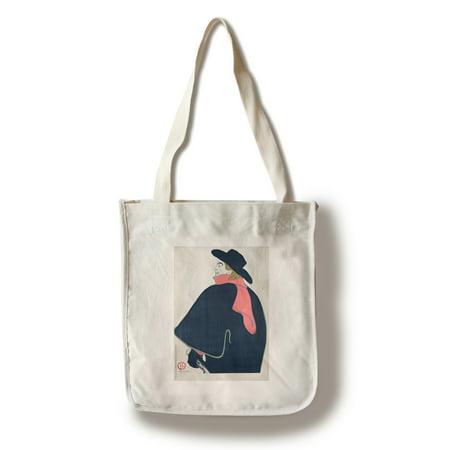 Eldorado   Aristide Bruant Vintage Poster  Artist  Toulouse Lautrec  Henri De  France C  1892  100  Cotton Tote Bag   Reusable