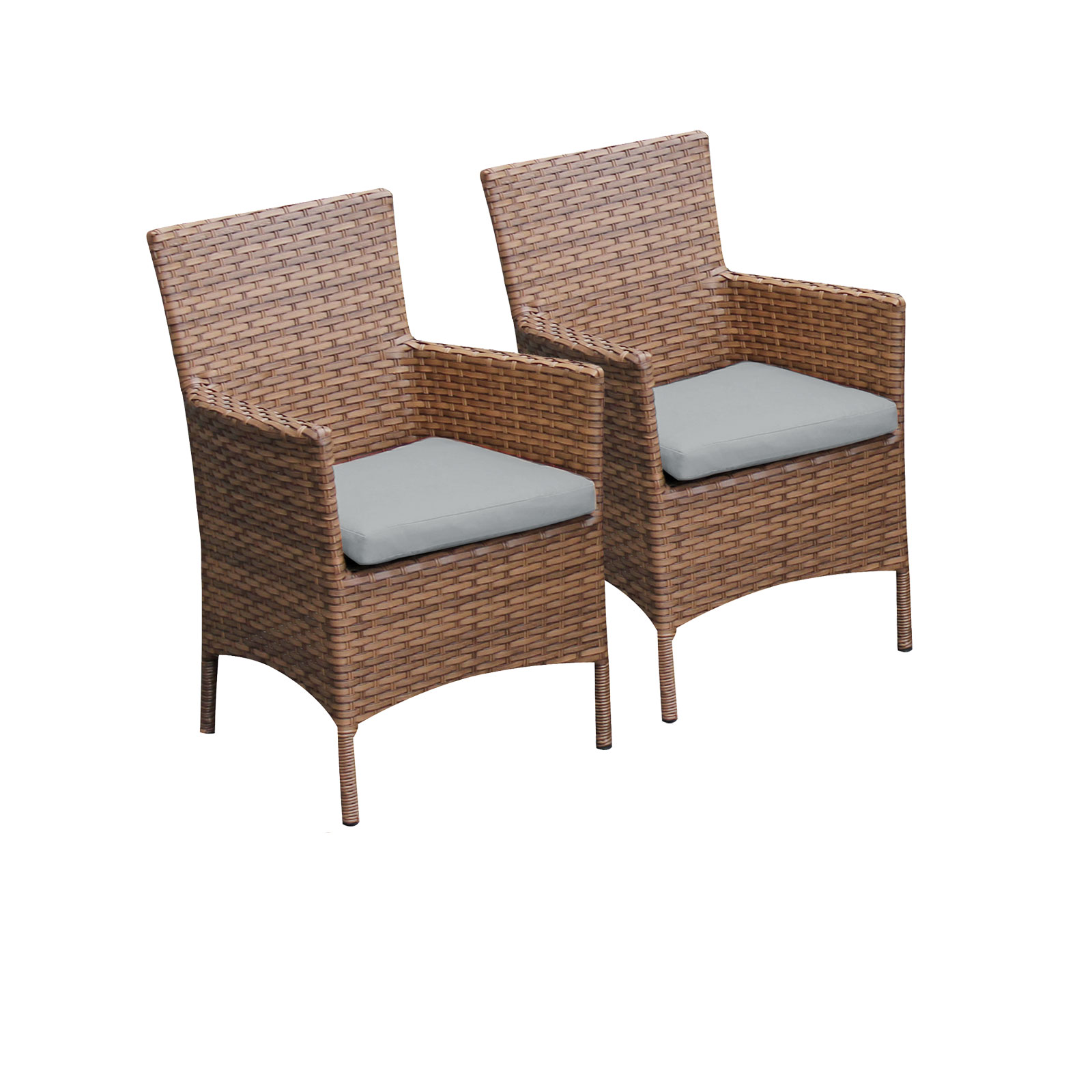 2 Tuscan Dining Chairs With Arms