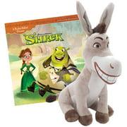 Shrek Book and Donkey Plush