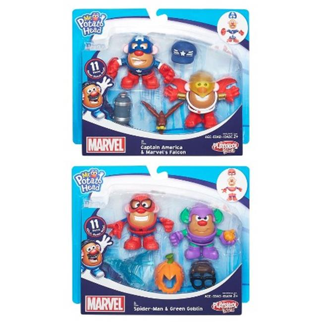 Hasbro HSBB6452 Play Mr. Potato Head Marvel Mashup Deluxe Assorted, Pack of 4 by Hasbro