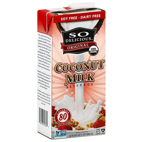 So Delicious Original Coconut Milk, 32 oz (Pack of 12)