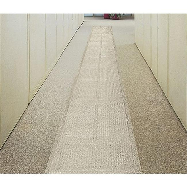 E.S. Robbins 110606 3 ft. x 60 ft. Ribbed Clear Vinyl Runner