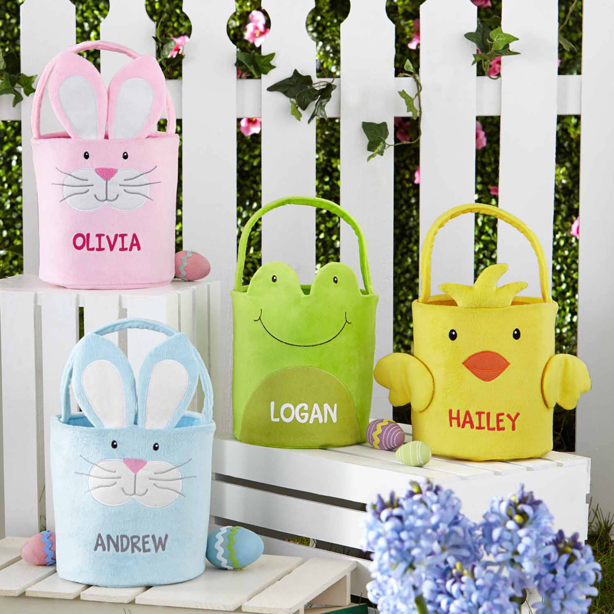 Walmart: Personalized Plush Easter Baskets Only $9.98 + FREE Store Pickup