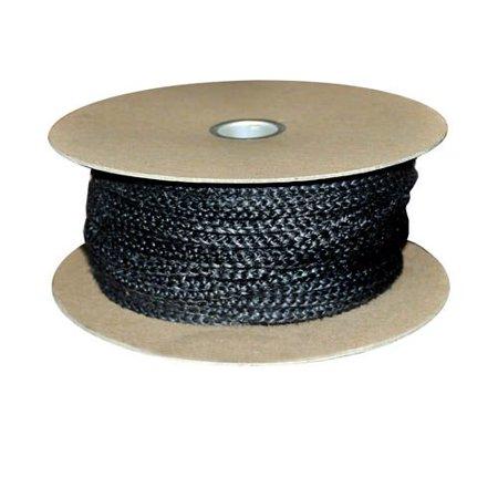 Black Wood Stove Door Gasket Spool - 7/8