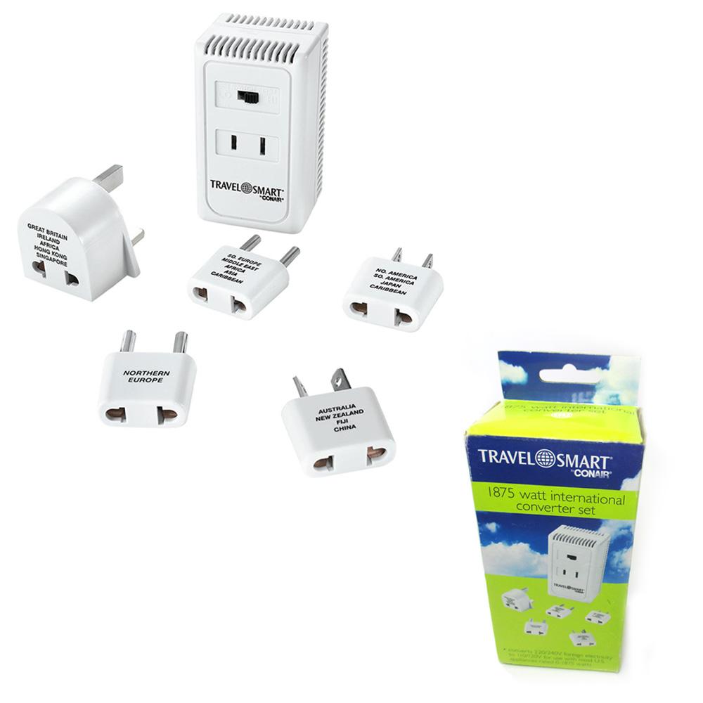 International Converter World Travel Voltage Adapter Plug Power Kit 1875 Watt Walmart Com