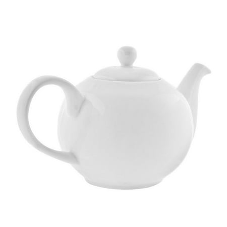 10 Strawberry Street Royal White Teapot in White