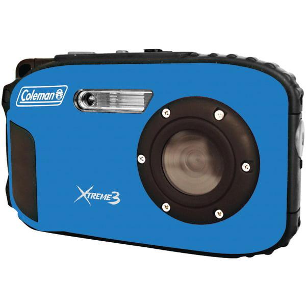 Coleman C9WP-BL 20.0-Megapixel Xtreme3 HD Video Waterproo...