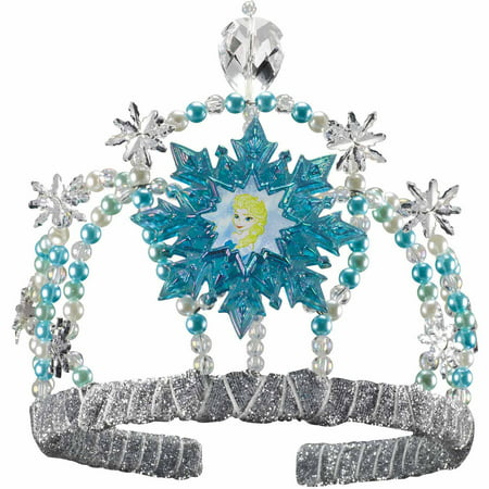 Frozen Elsa Tiara Child Halloween Accessory](Dress Up Like Toddlers Tiaras Halloween)
