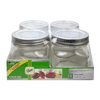 JARDEN HOME BRANDS 1440061180 4Pack 16OZ Platinum Jars